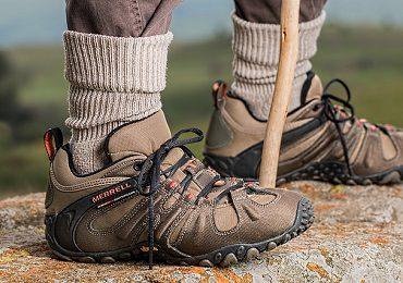 Don't skimp on footwear when backpacking